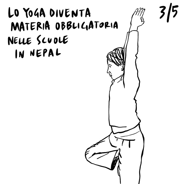 18.03.2020 Chiude Lourdes per la prima volta nella storia, aumenta il commercio di armi negli Stati Uniti, Yoga come materia obbligatoria in Nepal.