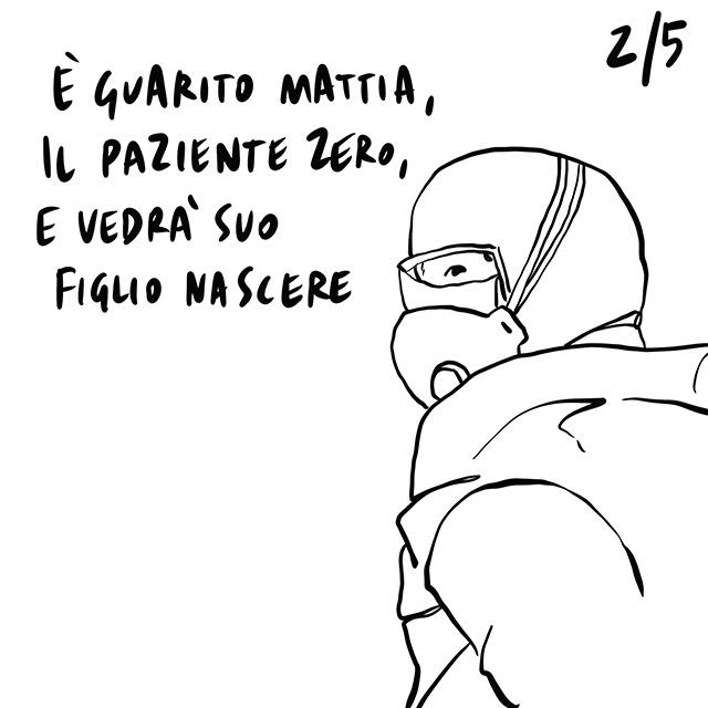 20.03.2020 La Lombardia è la regione più colpita dal virus, guarito Mattia, il paziente zero, incerta la riapertura delle scuole.