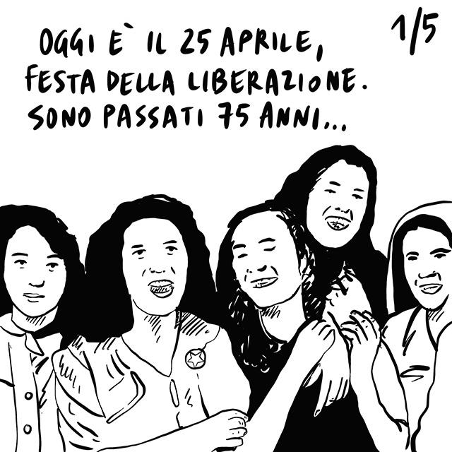 """25.04.2020 Settantacinquesimo anniversario della Liberazione italiana, la parola chiave della fase due è """"distanziamento"""", San Francisco si muove per tempo evitando il dramma di NYC."""