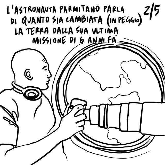 """06.03.2020 """"Fiducia"""" e """"Unione"""" le parole chiave per affrontare l'emergenza, la Terra dallo spazio appare """"peggiorata"""" rispetto agli ultimi anni, Alitalia di nuovo in vendita."""