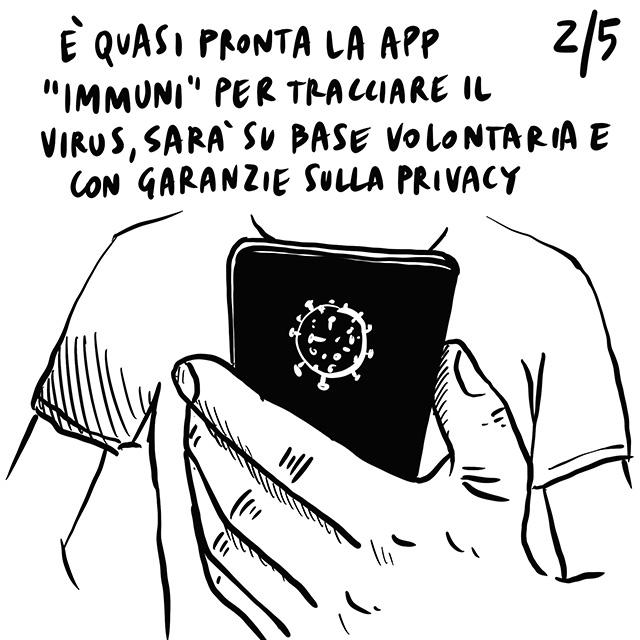 """30.04.2020 Voglia di riaprire in tutta Italia, quasi pronta """"Immuni"""", si potranno finalmente celebrare i funerali."""