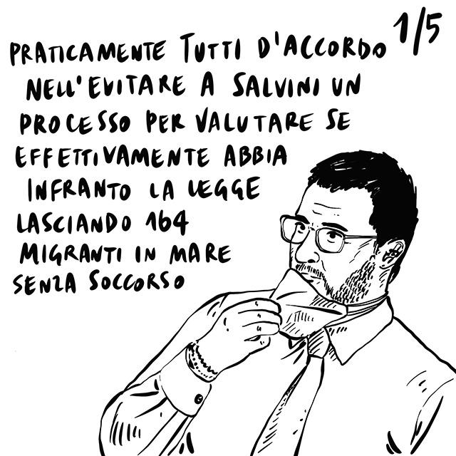 27.05.2020 Quasi tutti d'accordo sul non mandare Salvini a processo, proteste da parte dei tassisti, categoria trascurata, annunciato per il 2022 il quinto Indiana Jones.
