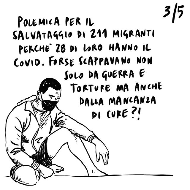 """25.06.2020 Manifestazioni contro le """"non-soluzioni"""" per il rientro a scuola, il 73% di coloro che lasciano il lavoro sono donne, polemica sul salvataggio di 211 migranti risultati positivi al virus."""