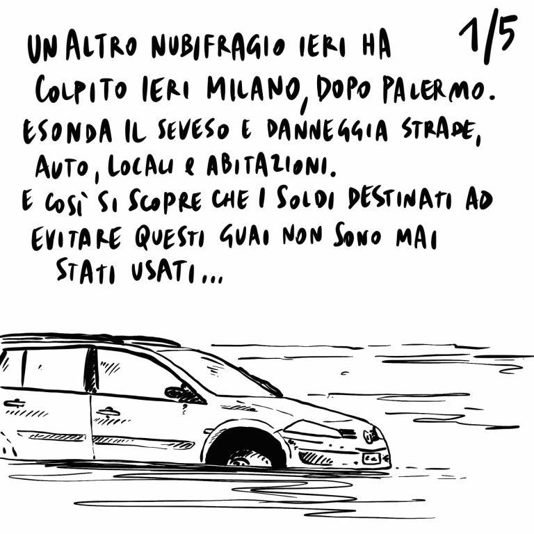 25.07.2020 Un altro nubifragio colpisce Milano, Pechino minaccia la chiusura del consolato USA a Chengdu, Fontana indagato per autoriciclaggio.