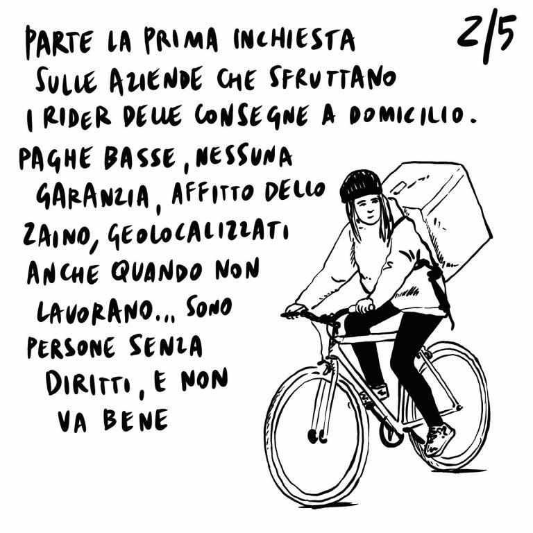 """4.07.2020 Previsto forte calo delle nascite, prima inchiesta sulle aziende responsabili dello sfruttamento dei rider, manifestazione degli """"Stati Popolari"""" a Roma domani."""
