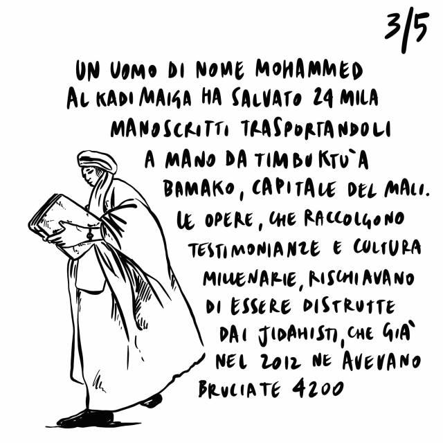 31.08.2020 Emergenza migranti a Lampedusa, Mohammed Al Kadimaiga salva 24.000 manoscritti da i Jidahisti, emergenza climatica in Trentino e Veneto.