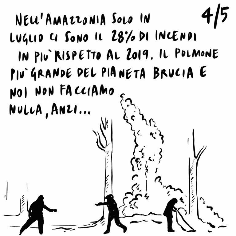 3.07.2020 Via al cashback, difesa europea, aumentano gli incendi in Amazzonia.