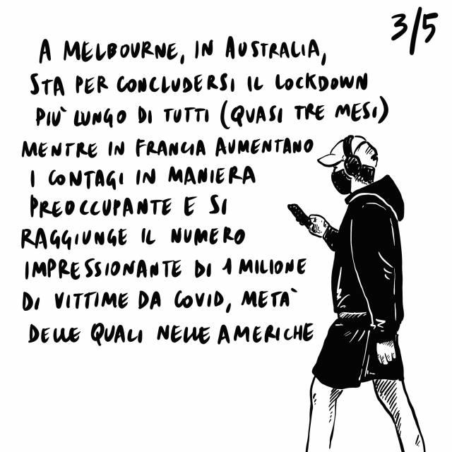 28.09.2020 Si fanno indagini sulla scandalo in Vaticano, Conte contro i decreti sicurezza di Salvini, Si riaccende il conflitto armato tra Armenia e Azerbaigian.
