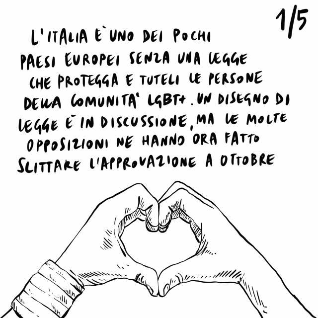 18.09.2020 Italia indietro in materia di diritti LGBTQ+, il PD ambisce a diventare primo partito, aumento dei contagi in Europa.