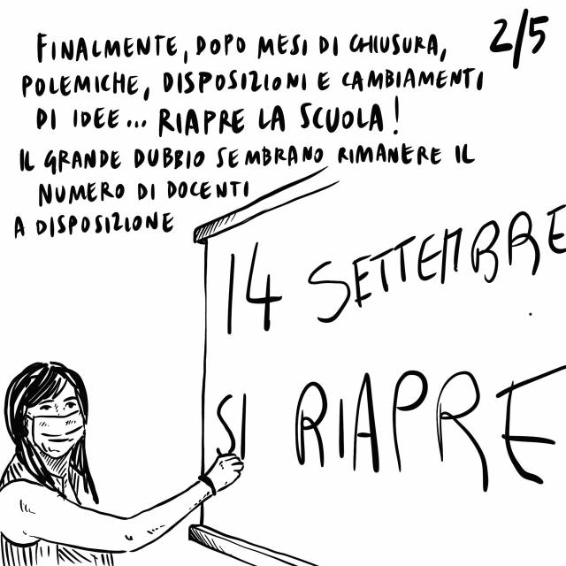 13.09.2020 Speranza invita a resistere altri 6 mesi la fine della crisi, riapre la scuola, riscendono in piazza i Gilet Gialli.