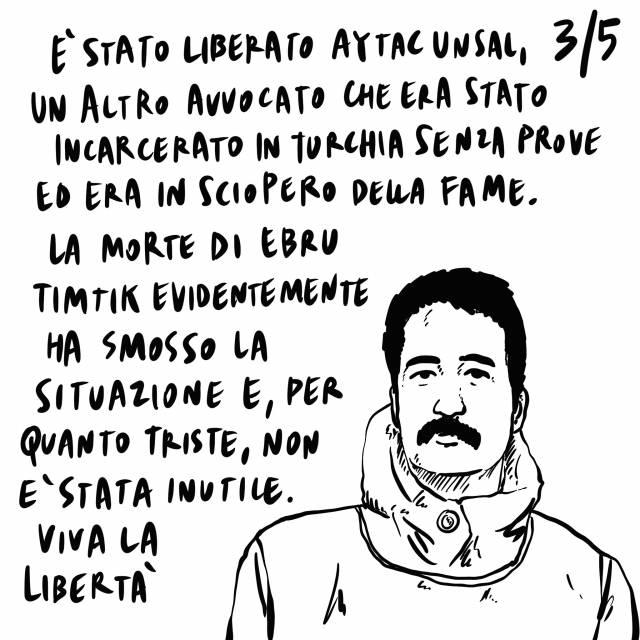 4.09.2020 L'Ue quasi pronta con il vaccino, si riparla del ponte sullo stretto di Messina, liberato Aytac Unsal.