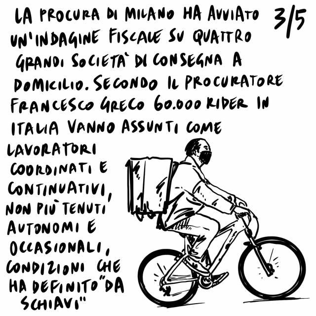 25.2.2021 Completata la squadra di Governo, boom di contagi a Brescia, indagini su aziende di consegne di cibo a domicilio da parte della Procura di Milano.
